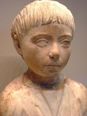 File:Roman Child Bust 75CE.jpg