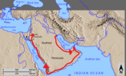 Alexander's-Route-Through-Arabia