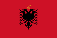 Flag Kingdom Of Albania svg