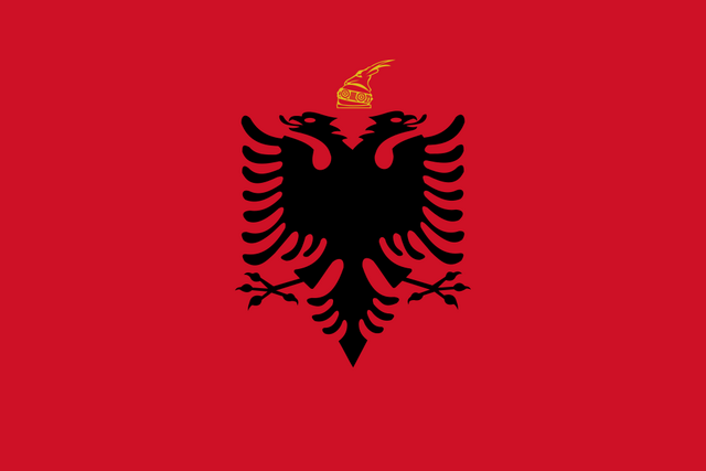 File:Flag Kingdom Of Albania svg.png