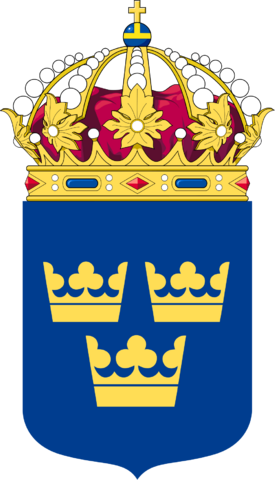 File:Coat of Arms of Sweden Lesser.png