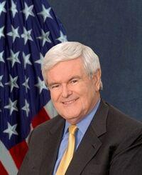 Portrait of Newt Gingrich