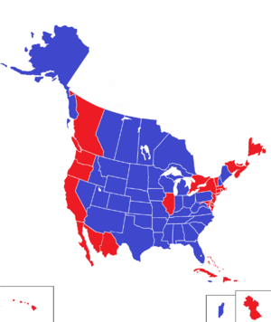 ElectionMap2016 (King of America)
