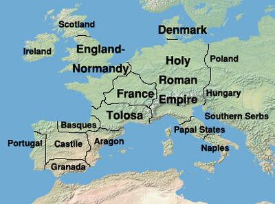 Map Europe 1350 (EW) ver2