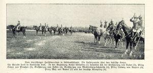 Kaiserparade 1909 Karlsruhe