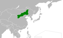 Location of Mengjiang (Myomi)