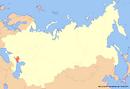 Location of Kalmykia (New Union)