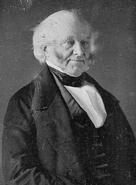 Martin Van Buren daguerreotype by Mathew Brady circa 1849 - edit 1 cropped