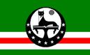 Flag Chechen Ichkeria (COA-2)