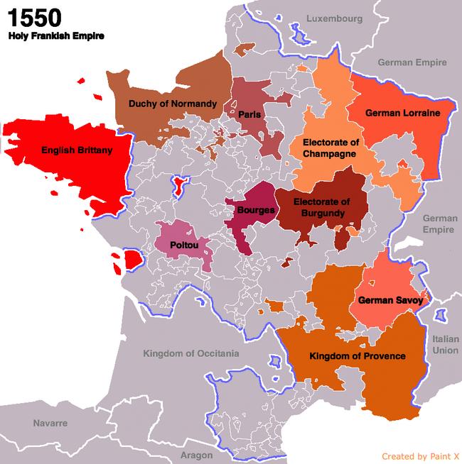 Holy Frankish Empire Upvote