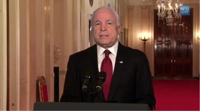 File:John McCain announcing death of Osama bin Laden (SIADD).jpg