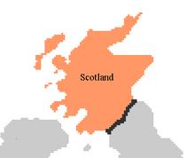 Scotland Map PMII