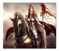 Persian Partisan Knight