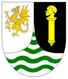 Guinea Coat of Arms (Welsh)