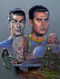 STAR TREK TOS THE CAGE de Robert Butler (1964-2013)
