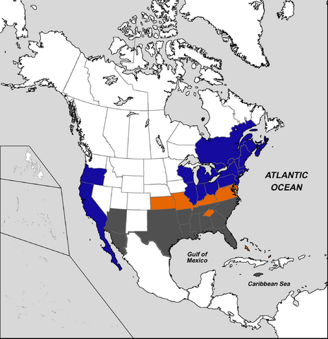 File:States of the United States of America (Civil War Era).png