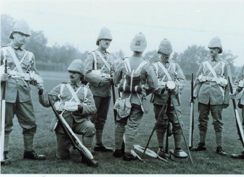 File:1st Batt Hereford Rifles c.1899 .jpg