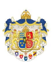 Coat of Arms of the Scandinavian Empire (1457-1649) (PM3)