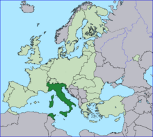 Location Italy EU Europe