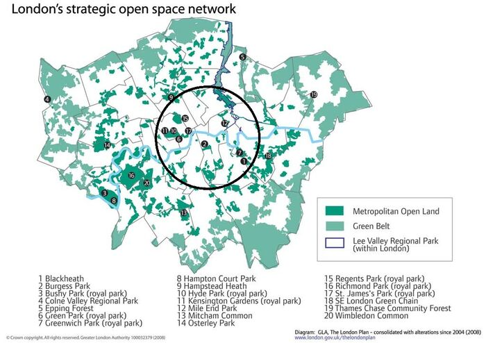 London map 1