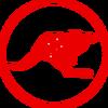 DLP kangaroo red
