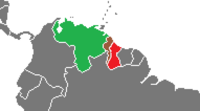 (AvA) revised. Guayana Esequiba crisis as of 1950.