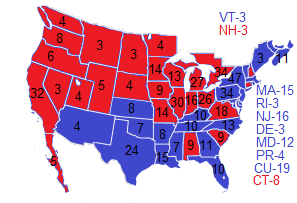 1960 Election NW