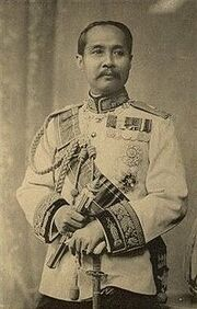 Chulalongkorn as Field Marshal