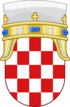 Lesser Coat of arms of Kingdom of Croatia
