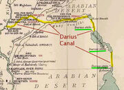 Ancient Suez Darius Canal