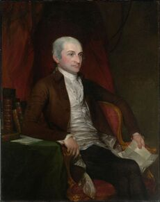 Gilbert Stuart - John Jay - Google Art Project