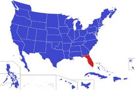 United States map - East Florida (Alternity)