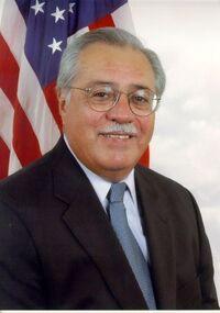 Portrait of Ed Pastor