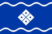 Flag of Rikushū (World of the Rising Sun)