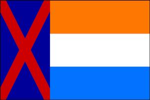 Flag Boer Free State (VegWorld)