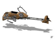 W i P Star Wars Speeder Bike by Paul Muad Dib