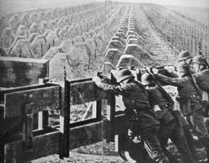 German Soldiers at the Westwall (Munich Goes Sour)