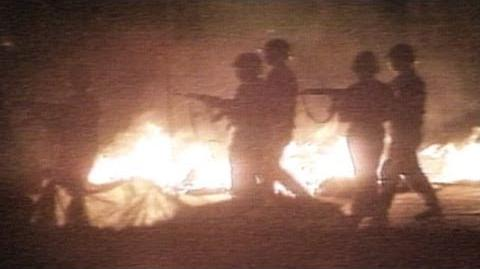 Tiananmen Square Protests 1989 Chinese Soldiers Open Fire on Civilians