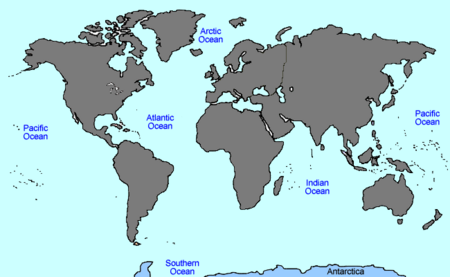 VINW World Map ANTARCTICA
