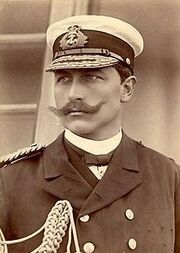 220px-Wilhelm II, German Emperor, by Russell & Sons, c1890