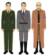 PNU high command uniforms(Atomic World Map Game)