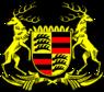 Wappen Volksstaat Württemberg (Farbe)