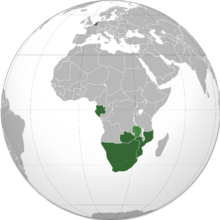 South Africa NotLAH (orthographic projection)