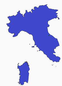 Italian Republic Map (GNW)