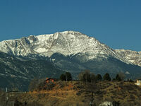 Pikes Peak by David Shankbone