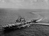 USS Saratoga, 1943-44