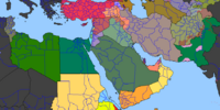 Arab Winter (Map Game)