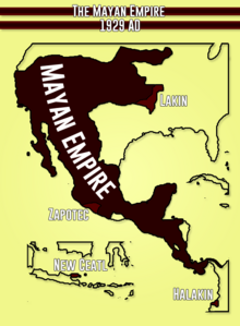 Mayan Empire 1929 AD