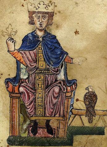 File:Frederick II and eagle.jpg