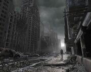 17730 1 miscellaneous digital art apocalyptic destruction destroyed city